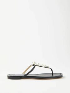 Raey - Wide Leg Trousers - Womens - Dark Navy