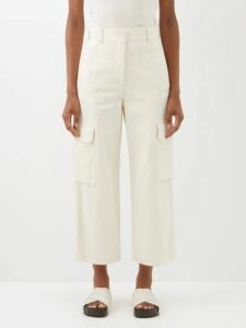 Mara Hoffman - Bette Broderie Anglaise Cotton Blend Dress - Womens - Beige
