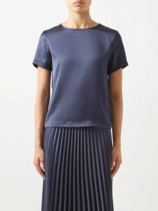 Emme Parsons - Liv T Strap Leather Sandals - Womens - Tan