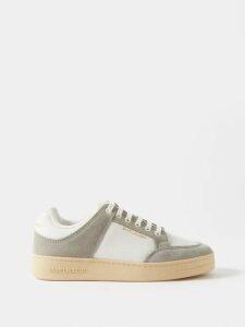 Marina Moscone - Single Breasted Wool Blend Blazer - Womens - Black