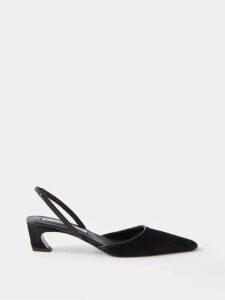A.p.c. - Yael Cross Over Leather Slides - Womens - Tan