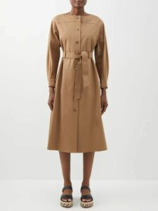 Vetements - Secret Society Cotton Hooded Sweatshirt - Womens - Red