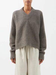 Gucci - Arli Gg Leather Shoulder Bag - Womens - Tan
