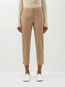 Gabriela Hearst - Otalora Off The Shoulder Wool Blend Maxi Dress - Womens - Ivory