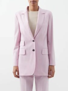 Emilia Wickstead - Giovanna Boat Print Dress - Womens - Pink Print