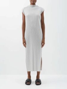 Giuliva Heritage Collection - The Alex Sleeveless Wool Dress - Womens - Khaki