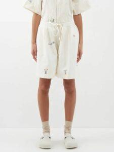 Paco Rabanne - Carnation Print Chainmail Dress - Womens - Silver Multi