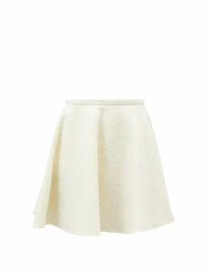 Emilia Wickstead - Ines Sailboat Print Cotton Poplin Mini Skirt - Womens - Pink Print