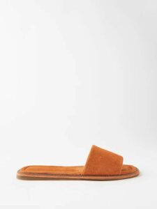 Giuliva Heritage Collection - The Sienna Cotton Piqué Playsuit - Womens - Blue