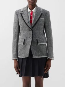 Rodarte - Ruffle Trim Fil Coupé Blouse - Womens - Light Pink