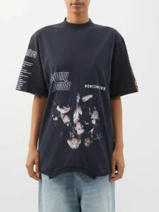 Junya Watanabe - Lace Slip Overlay Wool Blend Dress - Womens - Black Grey