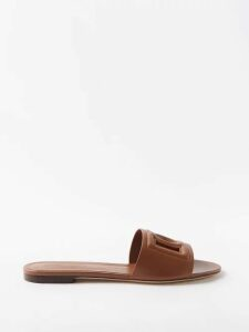 Palmer//harding - Sedona Striped Linen Shirtdress - Womens - Blue Stripe