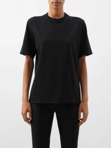Vetements - Ring And Stirrup Leather Western Boots - Womens - Black