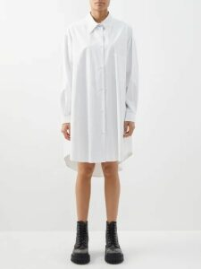 Emilia Wickstead - Rowena Belted Italy Print Dress - Womens - Pink Print