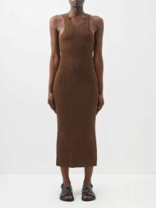 Suicoke - Depa V2 Checkerboard Sandals - Womens - Red White