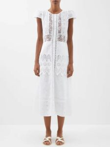 Story Mfg - Verity Tie Dyed Cotton Dress - Womens - Pink