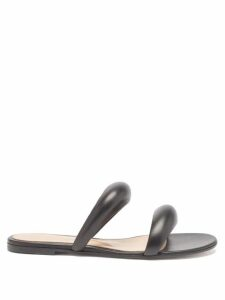 Sir - Constance Polka Dot Open Back Silk Mini Dress - Womens - Black