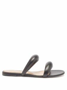 Sir - Constance Polka Dot Open Back Silk Mini Dress - Womens - Black