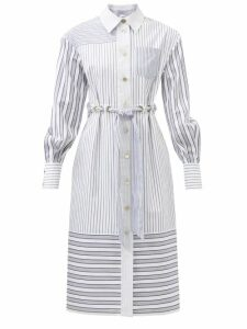 Gianvito Rossi - Poppy 85 Suede Platform Sandals - Womens - Dark Green