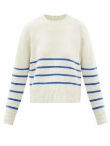 Gianvito Rossi - Portofino 60 Suede Sandals - Womens - Nude