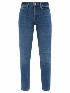 Andrew Gn - Floral Embellished Crepe Dress - Womens - White Multi