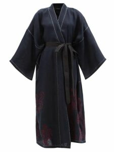 A.p.c. - Sailor Cropped Raw Denim Jeans - Womens - Indigo