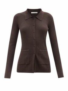 Dolce & Gabbana - Lilium Print Tiered Poplin Maxi Skirt - Womens - Black Print