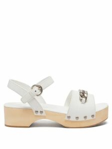 Dodo Bar Or - Milli Floral Print Cotton Poplin Mini Skirt - Womens - Cream Print