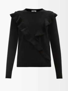 Erdem - Julianne Fitroy Print Silk Voile Gown - Womens - Blue Multi