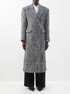 Prada - Studded Leather Belt - Womens - Red