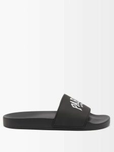 Prada - Floral Print Roll Neck Gown - Womens - Green Multi