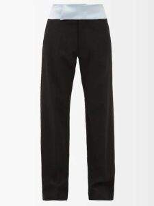 Prada - Tie Dye Cotton Shirtdress - Womens - White Multi