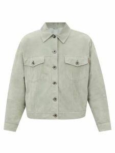Joseph - Luke Striped Cotton Shirt - Womens - Blue Multi