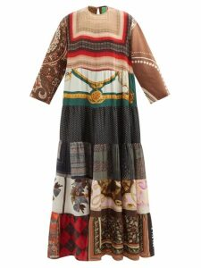 Haider Ackermann - Taroni Tailored Silk Satin Trousers - Womens - Cream