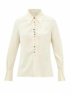 Zimmermann - Amari Paisley Print Voile Maxi Dress - Womens - Pink