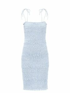 Dodo Bar Or - Milli Floral Print Cotton Mini Skirt - Womens - Black Print