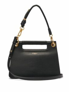 Givenchy - The Whip Small Cut Out Leather Cross Body Bag - Womens - Black