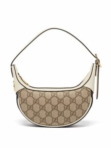 Gucci - Marmont Gg Leather Sandals - Womens - Beige
