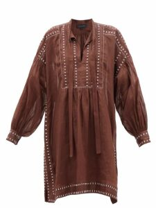 Three Graces London - X Zandra Rhodes Gabrielle Silk Maxi Dress - Womens - Red Multi