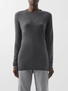 Dolce & Gabbana - Floral Cotton Blend Guipure Lace Skirt - Womens - Green