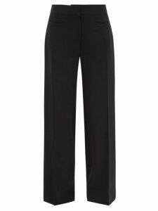 Balenciaga - Logo Tab Ribbed Sweater - Womens - Blue