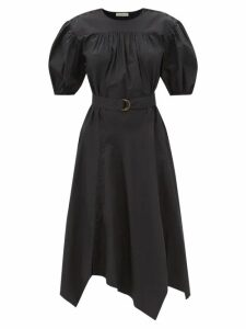 Anaak - Kai Raw Edged Cotton Kaftan - Womens - Blue
