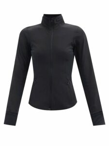 Anaak - Lago Drawstring Neck Cotton Blouse - Womens - Ivory