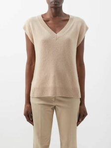 Emilia Wickstead - Nicola A Line Italy Print Skirt - Womens - Pink Print