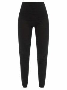 Alexander Mcqueen - Draped Crepe Dress - Womens - Dark Pink