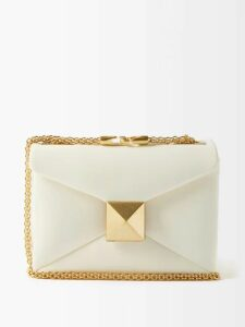 Malone Souliers - Corina Satin Mary Jane Pumps - Womens - Red