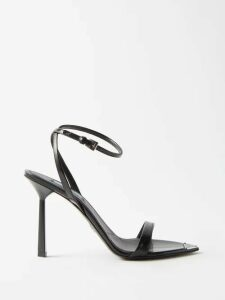 Saint Laurent - Double Breasted Wool Blazer - Womens - Dark Navy