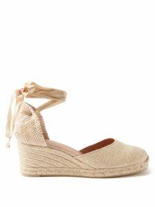 Self-portrait - Midnight Floral Sequinned Tiered Tulle Midi Dress - Womens - Black Multi