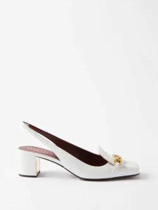 Borgo De Nor - Corin Lip & Floral Print Cotton Poplin Midi Dress - Womens - Yellow Multi