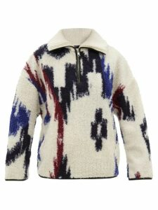 Dodo Bar Or - Hattie Floral Print Cotton Wide Leg Trousers - Womens - Green Print